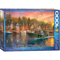 Eurographics - Harbour Sunset Puzzle 1000pc