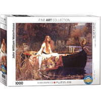 Eurographics - Lady of Shalott Puzzle 1000pce
