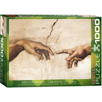 Eurographics - Creation of Adam Puzzle 1000pce