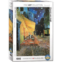 Eurographics - Van Gogh, Cafe at Night Puzzle 1000pc