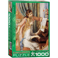 Eurographics - Renoir Girls on the Piano Puzzle 1000pce