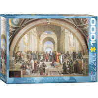 Eurographics - School of Athens Puzzle 1000pce