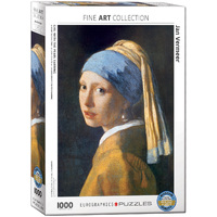 Eurographics - Girl with the Pearl Earring Puzzle 1000pc