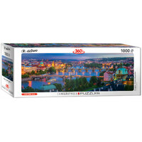 Eurographics - Prague Panorama Puzzle 1000pc