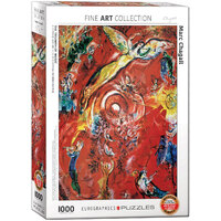 Eurographics - Chagall, Triumph of Music Puzzle 1000pc