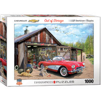 Eurographics - Out of Storage Corvette Puzzle 1000pc