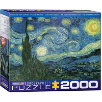 Eurographics - Van Gogh, Starry Night Puzzle 2000pc