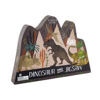 Floss and Rock - Dinosaur Puzzle 80pc