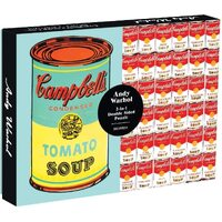 Galison - Andy Warhol Soup Cans Puzzle 500pc