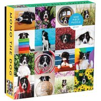 Galison - Momo the Dog Puzzle 500pc