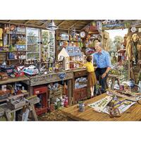 Gibsons - Grandads Workshop Large Piece Puzzle 40pc