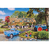 Gibsons - Milk On The Move Large Piece Puzzle 250pc