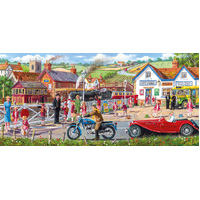 Gibsons - Railroad Crossing Panorama Puzzle 636pc