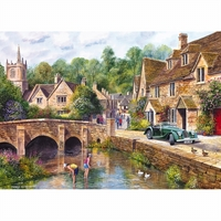 Gibsons - Castle Combe Puzzle 1000pc
