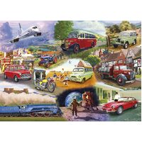 Gibsons - Iconic Engines Puzzle 1000pc