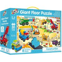 Galt - Construction Site Giant Floor Puzzle 30pc