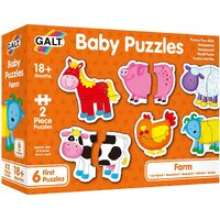 Galt - Baby Puzzles - Farm 2pc