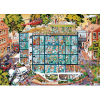 Heye - Loup, Emergency Room Puzzle 2000pc