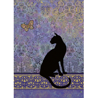 Heye - Cats, Silhouette Puzzle 1000pc