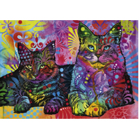 Heye - Jolly Pets, Devoted 2 Cats Puzzle 1000pc