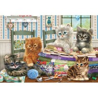 Holdson - Adorables - Kitten Capers Large Piece Puzzle 300pc
