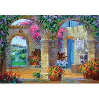 Holdson - Courtyards - A Glimpse of Tuscany Puzzle 500pc