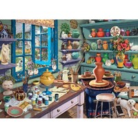 Holdson - Hobby Sheds, A Pottery Shed Large Piece Puzzle 500pc
