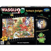 Holdson - WASGIJ? Christmas 13 Turkey's Delight Puzzle 1000pc