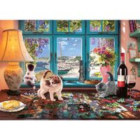 Holdson - Hobby Sheds The Puzzlers Nook Large Piece Puzzle 500pc