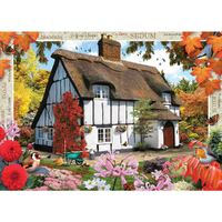 Holdson - Blossom Borders Sedum Cottage Large Piece Puzzle 500pc