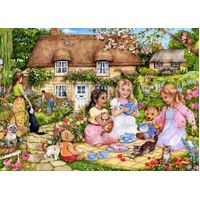 Holdson - English Village - A Picnic For Bears Large Piece Puzzle 500pc