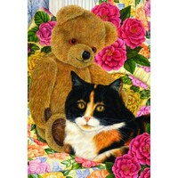 Holdson - Country Cats - Bear Comfort Puzzle 500pc
