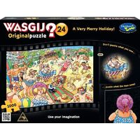 Holdson - WASGIJ? 24 A Very Merry Holiday Puzzle 1000pc