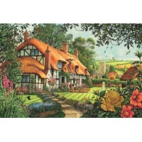 Jumbo - The Thatcher's Cottage Puzzle 1500pc