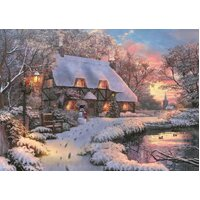 Jumbo - The Poet's Cottage Puzzle 1000pc