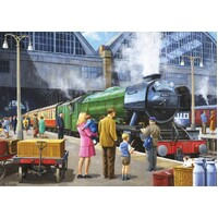 Jumbo - Flying Scotsman at Kings Cross Puzzle 1000pc