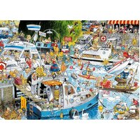Jumbo - Graham Thompson Cruise Chaos Puzzle 1000pc