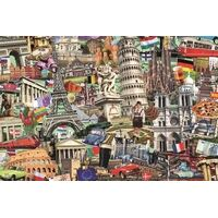 Jumbo - Best Of European Cities Puzzles 1500pc