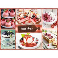 Jumbo - Berries Puzzle 1000pc