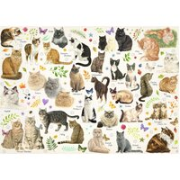 Jumbo - Cats Poster Puzzle 1000pc