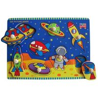 Fun Factory - Space Peg Puzzle 10pc