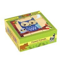 Mudpuppy - Forest Friends Block Puzzle