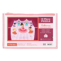 Mudpuppy - Ballerinas Pouch Puzzle 12pc
