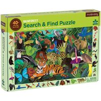 Mudpuppy - Search & Find Puzzle - Rainforest 64pc