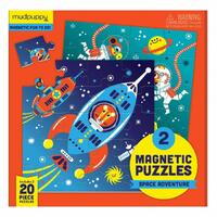 Mudpuppy - Magnetic Puzzle - Space Adventure