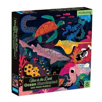Mudpuppy - Ocean Illuminated Glow in the Dark Family Puzzle 500pc