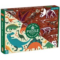 Mudpuppy - Dinosaur Dig Double Sided Puzzle 100pc