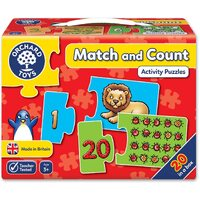 Orchard Toys - Match And Count Activity Puzzles