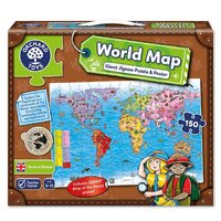 Orchard Toys - World Map Puzzle & Poster 150pc