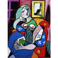 Piatnik - Picasso Lady with Book Puzzle 1000pce